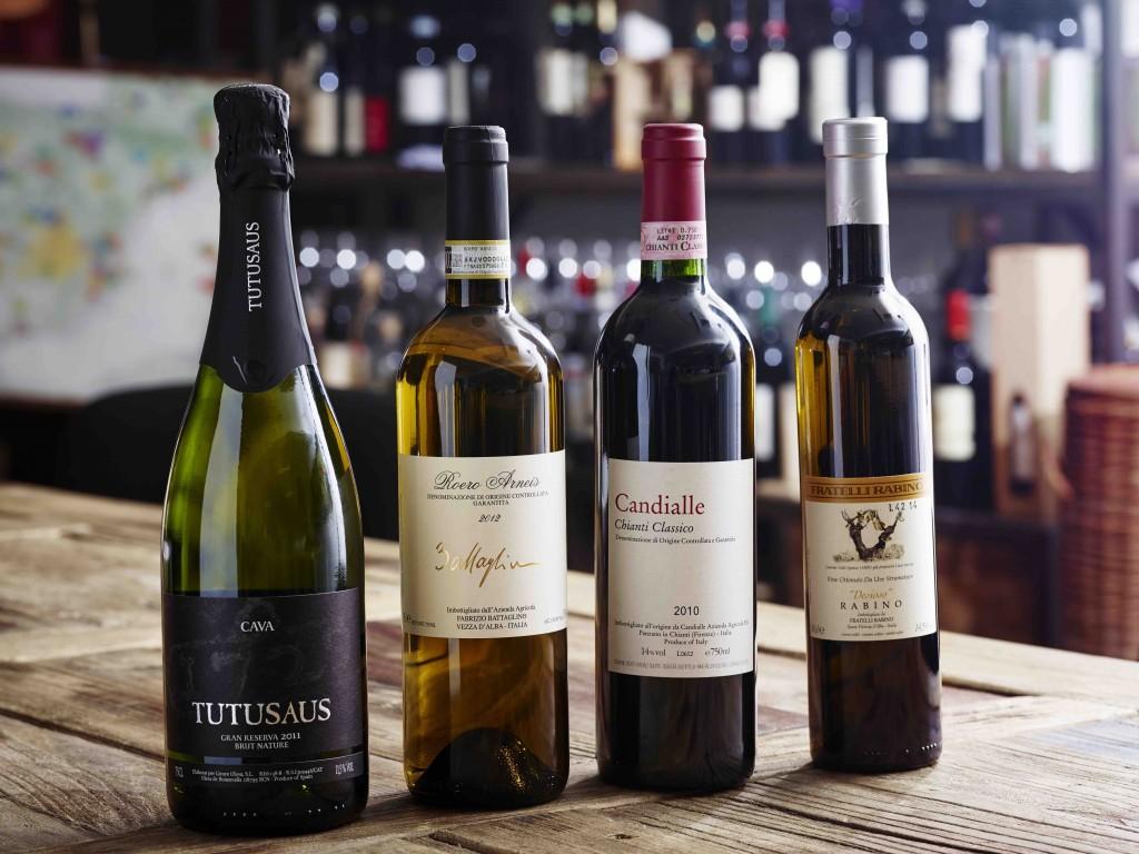 Gastro & Vino´s vinmenu - Ren glæde i glasset