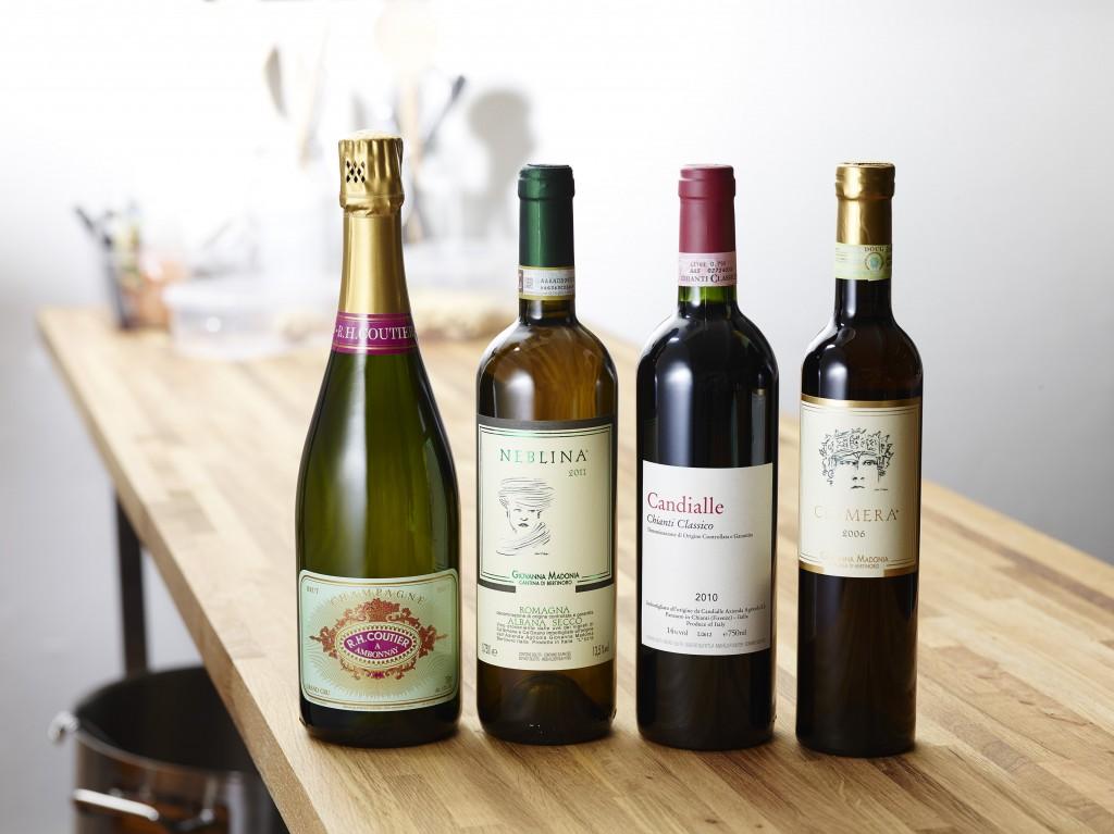 Lux udgave af vinmenuen