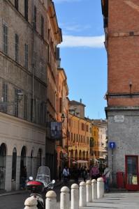 Parma Centrum morgen