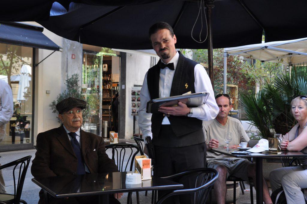 Cafekultur i Palermo med god stil
